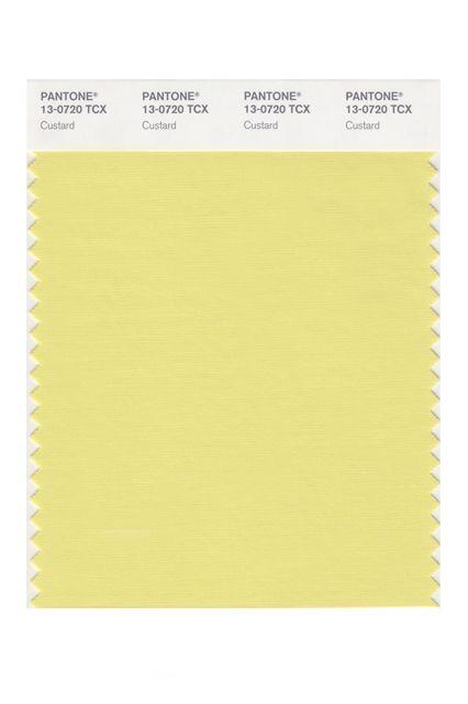 El nuevo amarillo se llama Custard