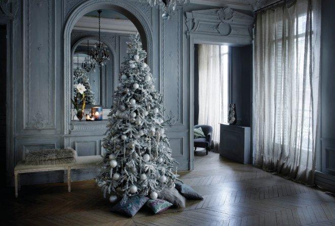 Viste tu casa de fiesta en Navidad
