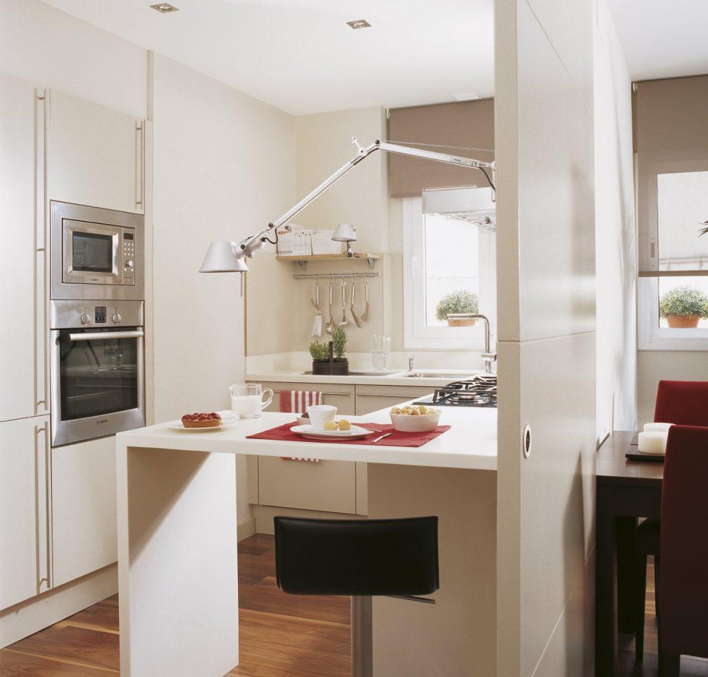 Claves para decorar una cocina peque a baluarte for Una cocina pequena
