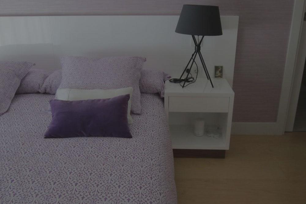Decoración de interior de un piso en madrid