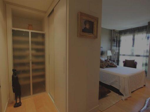 Decoración de interiores de un piso