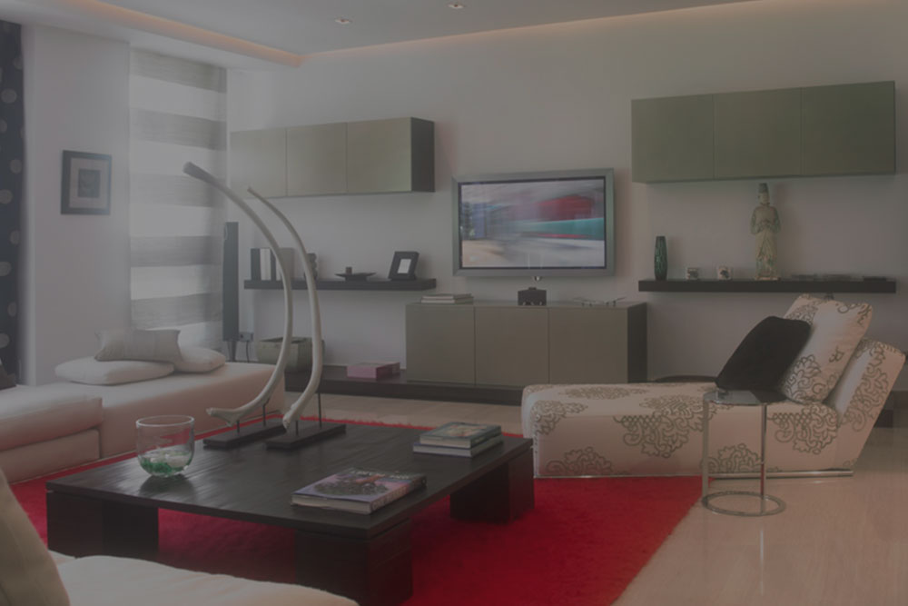 Diseño de interiores en un piso en madrid